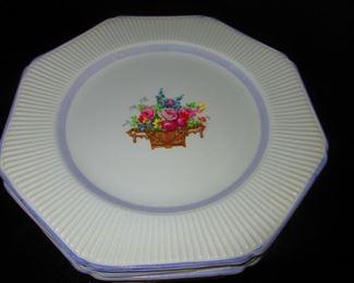 German Luncheon Plates