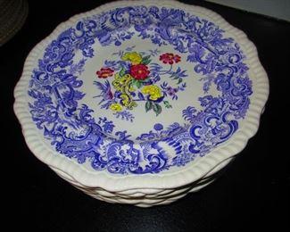 "Spode ""Mulberry Beverly"" Dinner Plates"