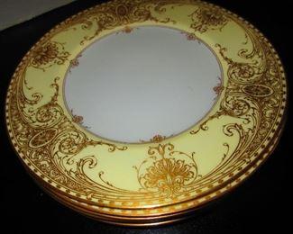 "Royal Worcester ""C.A. Seltzer Cleveland"" Plates"