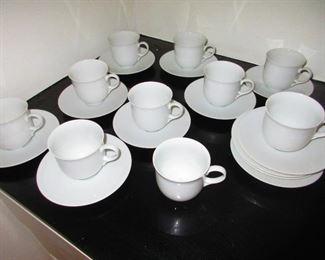 Dansk Cups & Saucers