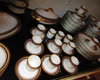 Group of German Porcelain Dinner Ware