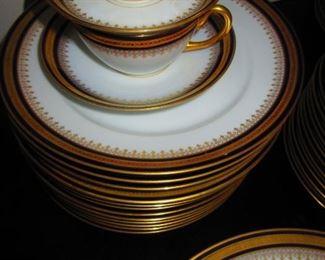 Detail of German Porcelain Dinner Ware