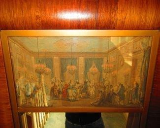 Detail of Trumeau Mirror