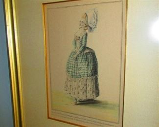 French Fashion Print