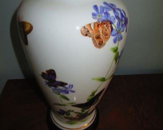 Butterfly Motif Vase
