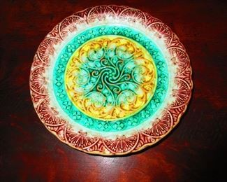 Majolica Plate