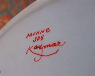 Signature on Daphne Kazmar Ducks