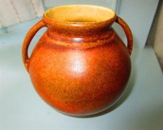 Pottery Double Handled Pot