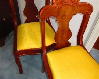Pair of Early Victorian Side Chairs