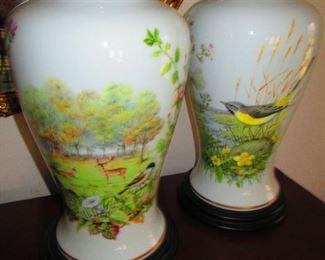 Pair of Franklin Mint Vases