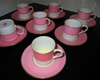 Royal Worcester Demitasse Cups & Saucers
