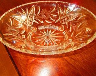 Wheel Cut Bowl