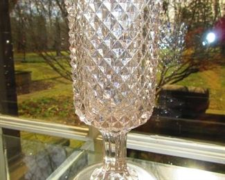 American Pressed Glass Celery Vase