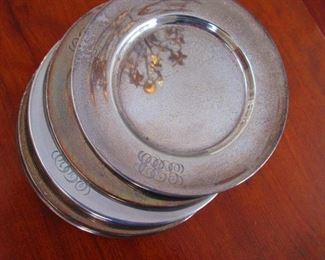 Sterling Bread Plates