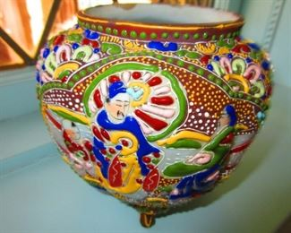 Satsuma Biscuit Jar