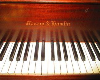 Detail of Mason & Hamlin Baby Grand Piano