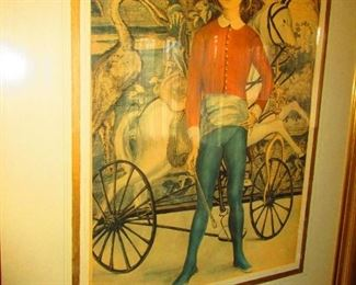 Framed Print of a Boy