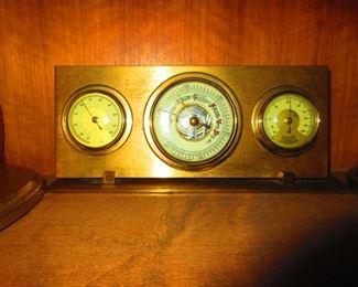 A Vintage Desk Barometer
