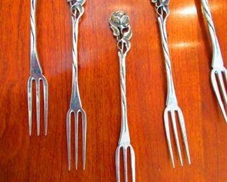 Sterling Escargot Forks