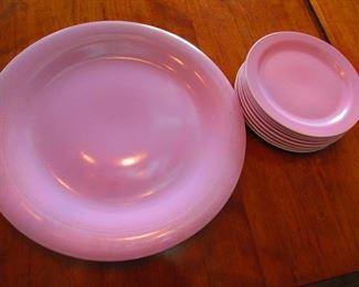 Vernon Kilns Platter and Dishes