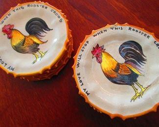 Italian Cock Plates