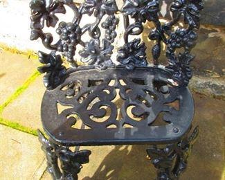 Iron Garden Seat