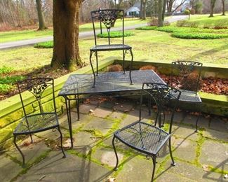 Iron Garden Furnishings