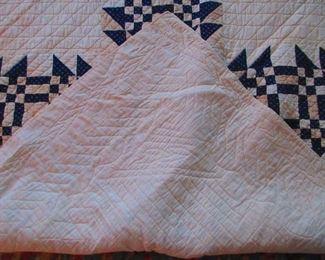 Verso of Antique Quilt