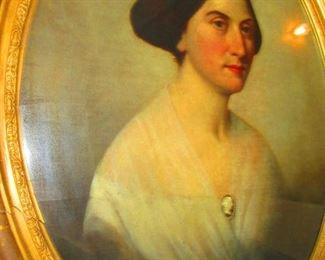 Portrait of Sarah Hall - Mid 19th c.