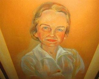 Portrait by Virginia Darmstatter