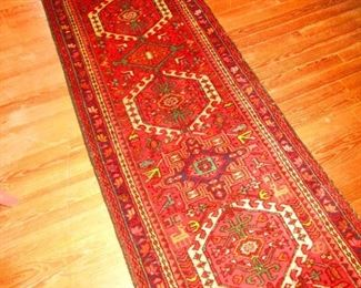 Hand Knotted Persian Runner