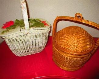 Vintage Basket Purses