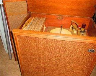 Vintage Motorola Hi-Fi Cabinet