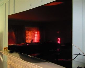 LG Curved Screen TV