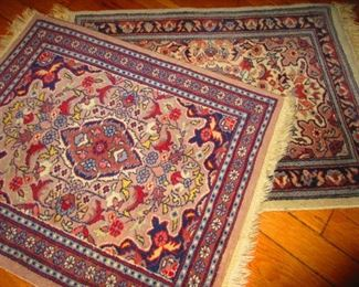 Hand Knotted Mats