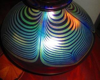 Abelman Art Glass Vase