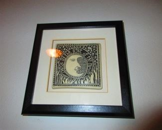 """Framed """"Dance By The Moon"""" Plaque"""