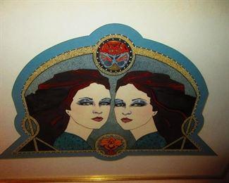 Tekavic - Illustration of 2 Beauties