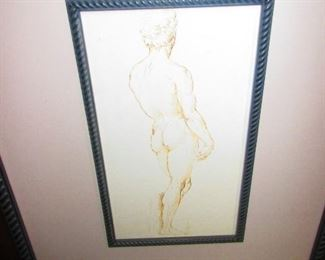 Rendering of a Nude Male