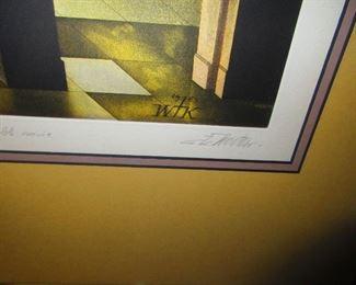 Signature, C.K. Woutess Print
