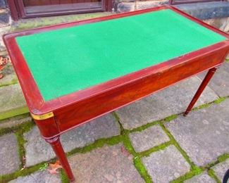 Game Table ca. 1820's
