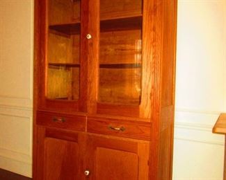Antique Display Cabinet, American
