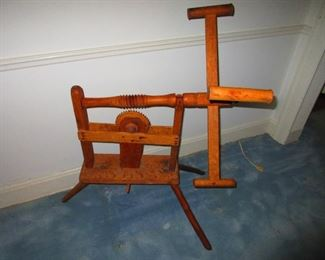 19th c. Spinning Wheel