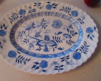 Blue Onion Platter