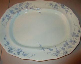 Transfer-ware Platter, 19th c.