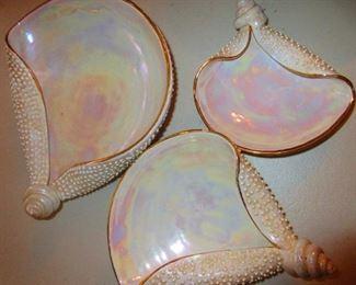 Mid Century Shell Dishes, Italy