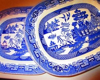 Blue Willow Platters