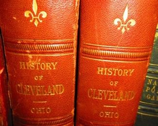 Antique History of Cleveland Books