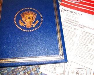 Sterling Presidential Coin Set