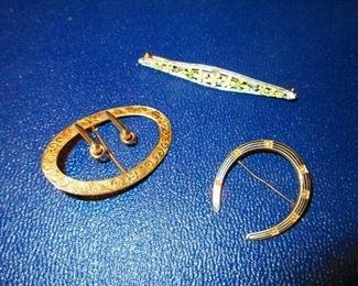 Victorian 14k Gold Jewels